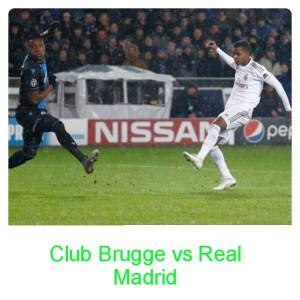 Club Brugge vs Real Madrid 1-3 Highlights