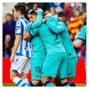 Real Sociedad vs Barcelona 2-2 Highlights