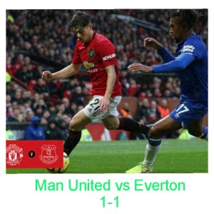 Manchester United Vs Everton 1 1 Highlights Download Video