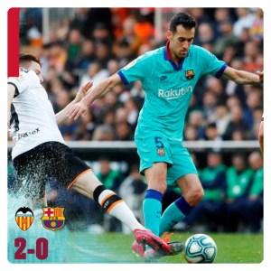"Valencia vs Barcelona 2-0 Highlights ""Football Video"""