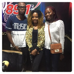 MEDIA TOUR: Merci Lisa Made The Rounds To Radio Stations All Over Ibadan City