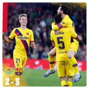 Download Football Video : Real Betis vs Barcelona 2-3 Highlights