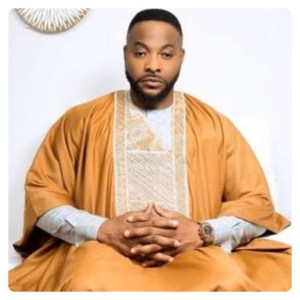 Nollywood Actor, Bolanle Ninalowo in Gold Agbada