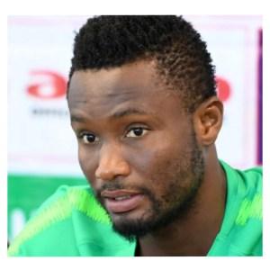 Mikel Obi in green dress Set For Premier League Return