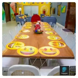 BBNaija dining table