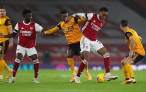 Arsenal vs Wolves 1-2 Highlights