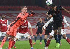 Arsenal vs Manchester City 1-4 Highlights