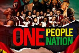 Stonebwoy - One People, One Nation ft. King Promise, Efya, Darkovibes, Fancy Gadam, Fameye, Maccasio, Teephlow, Bethel Revival Chior