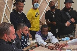 Drake, Meek Mill & Lil Baby Seen Gambling Together In The Bahamas