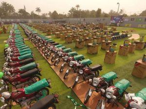 Member, Nigerian Youth Parliament Louds Sen. Teslim Folarin On Mega Empowerment Program