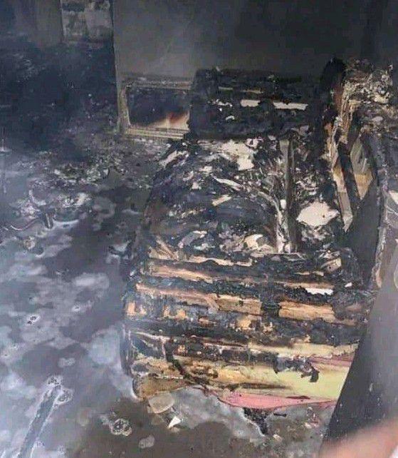 Sunday Igboho house set on fire