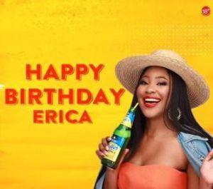 Happy birthday Erica
