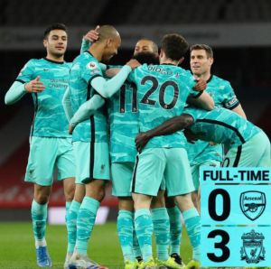 EPL: Arsenal vs Liverpool 0-3 Highlights Download