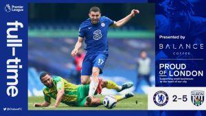 Chelsea vs West Brom 2-5 Highlights #CHEWBA