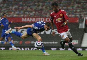 Manchester United vs Leicester City 1-2 Highlights (Download Video)