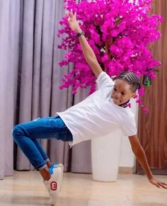 Wizkid first son, Boluwatife dance move