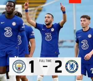 Manchester City vs Chelsea 1-2 Highlights (Download Video)