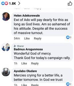 See reactions of Yoruba people
