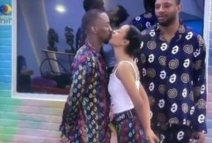 #BBNaija: Saga Reveals What He Will Do If Nini Gets Evicted Before Him