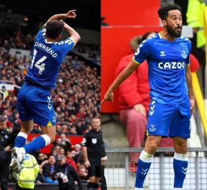 Everton's Townsend performed Ronaldo Shiii goal celebration