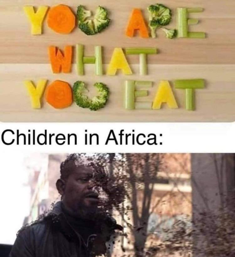«Eres lo que comes».