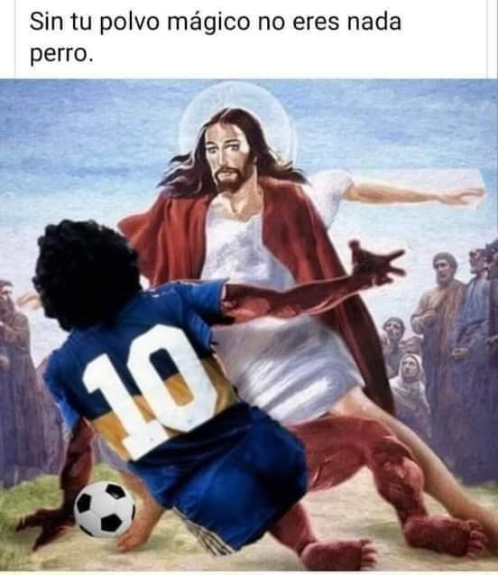 Yisus VS Maradona.