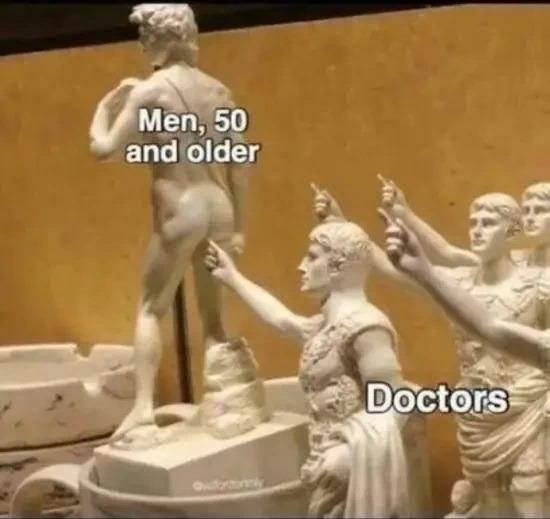 Hombres a partir de los 50…