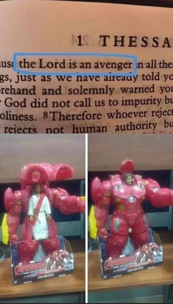Lo dice la Biblia.
