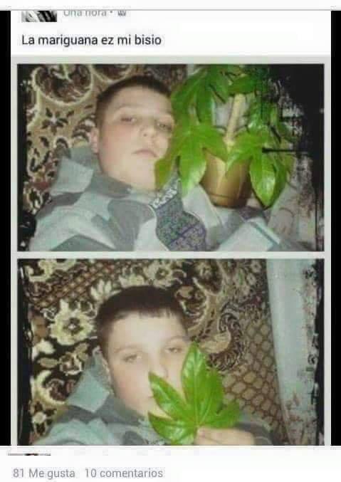 Otro joven que ha caído en el abismo de las drogas.