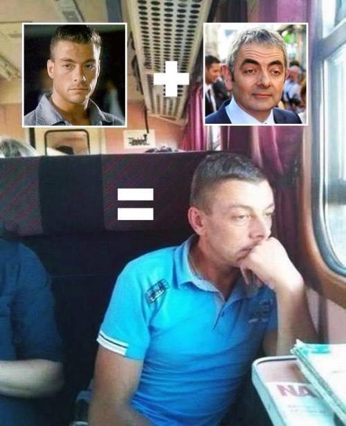Hallado el hijo bastardo de Jean-Claude Van Damme y Rowan Atkinson.