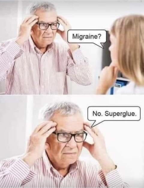 «¿Migraña?»