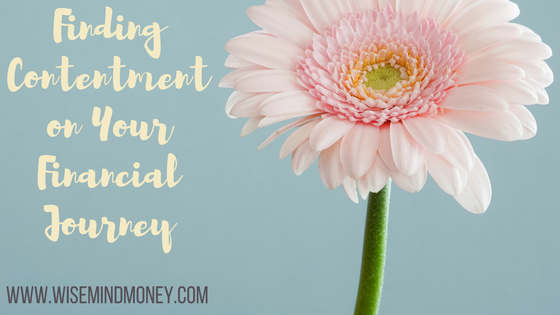Finding Contentment on Your Financial Journey