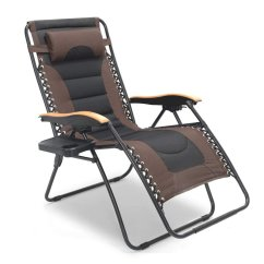 Padded Zero Gravity Chair Recliner That Stands You Up 6 Best Chairs For Back Pain Feb 2019 Reviews Luckyberry Deluxe Oversized 1 300x300 Image