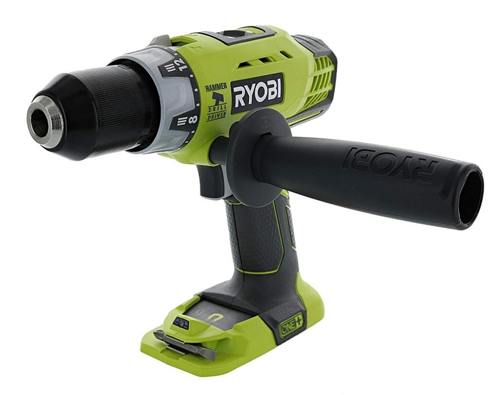 Ryobi 18v Hammer Drill 2 X 4ah