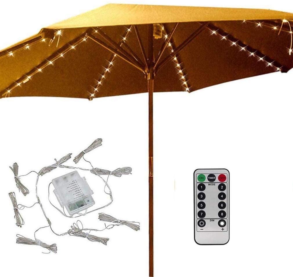 7 best patio umbrella lights may 2021