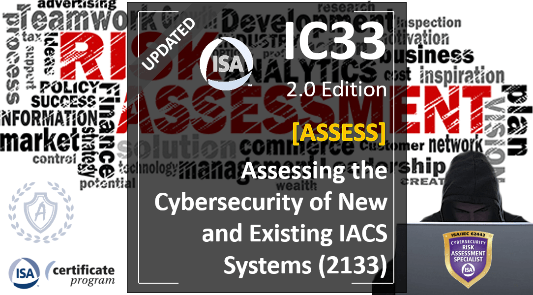 IC33 Course: Vulnerability Analysis and Risk Assessment in New and Existing Industrial Systems, Spanish