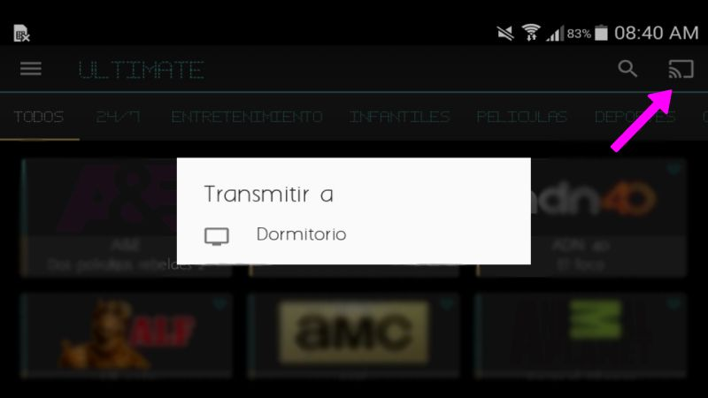 ultimate a chromecast