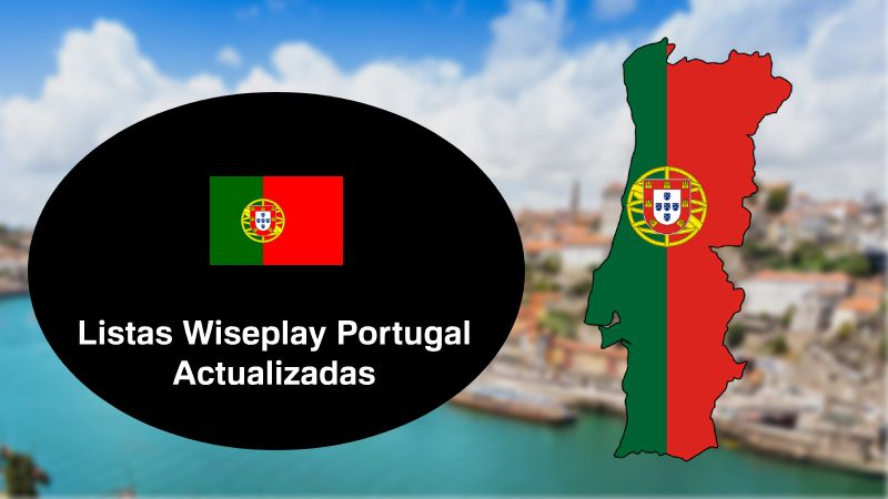 🥇 Listas Wiseplay Portugal Actualizadas 2019 》 Canales Portugueses
