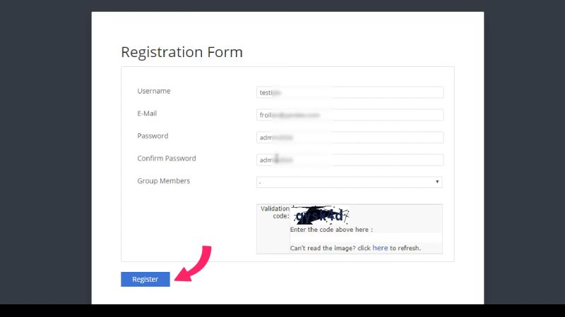 Set iptv registrase
