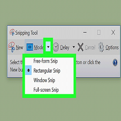 screenshot in windows
