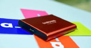 portable SSD hard drive