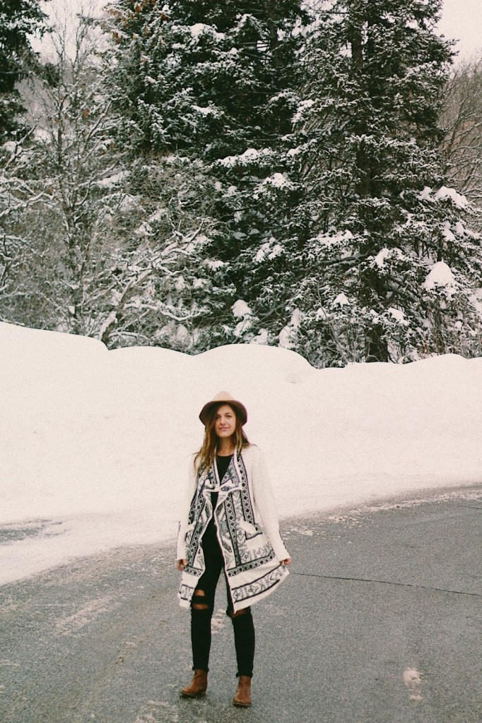 bohemian winter outfit