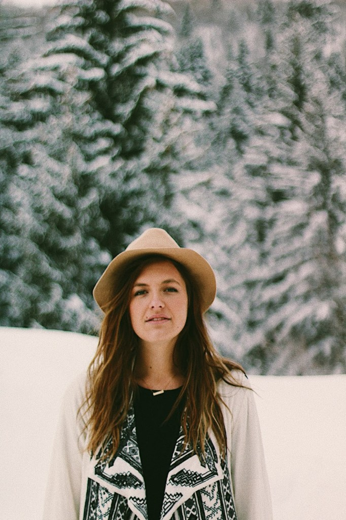 boho in the snow