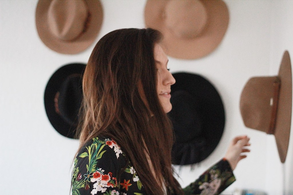 grab a hat to finish your outfit