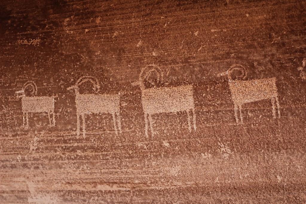 native american rock carvings petraglyphs torrey utah