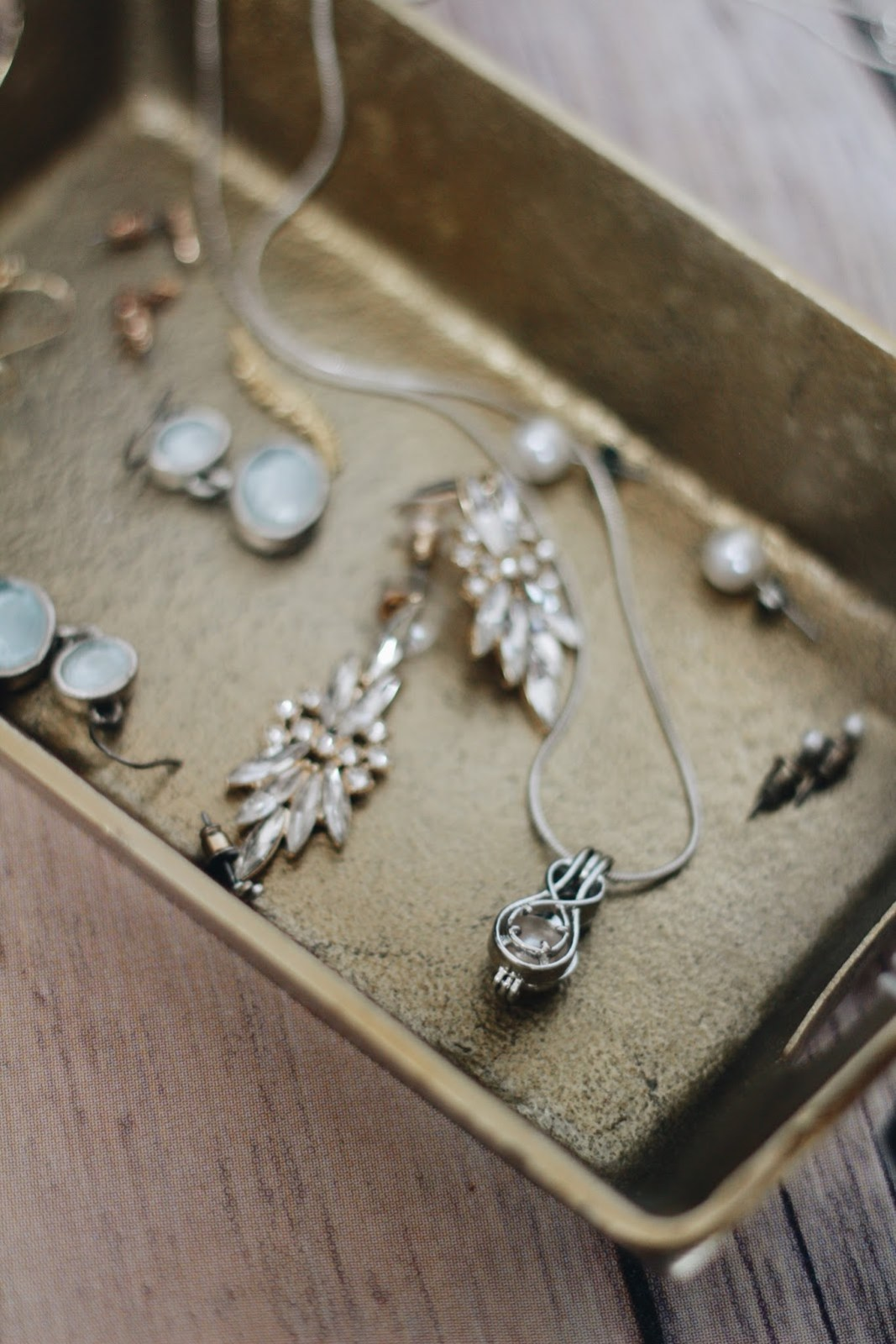 jewelry box sterling silver pearl necklace