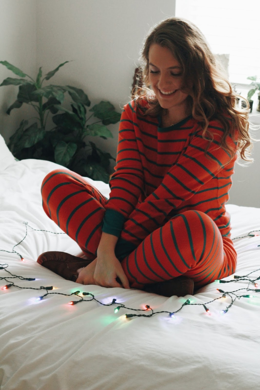 christmas pajamas old navy striped