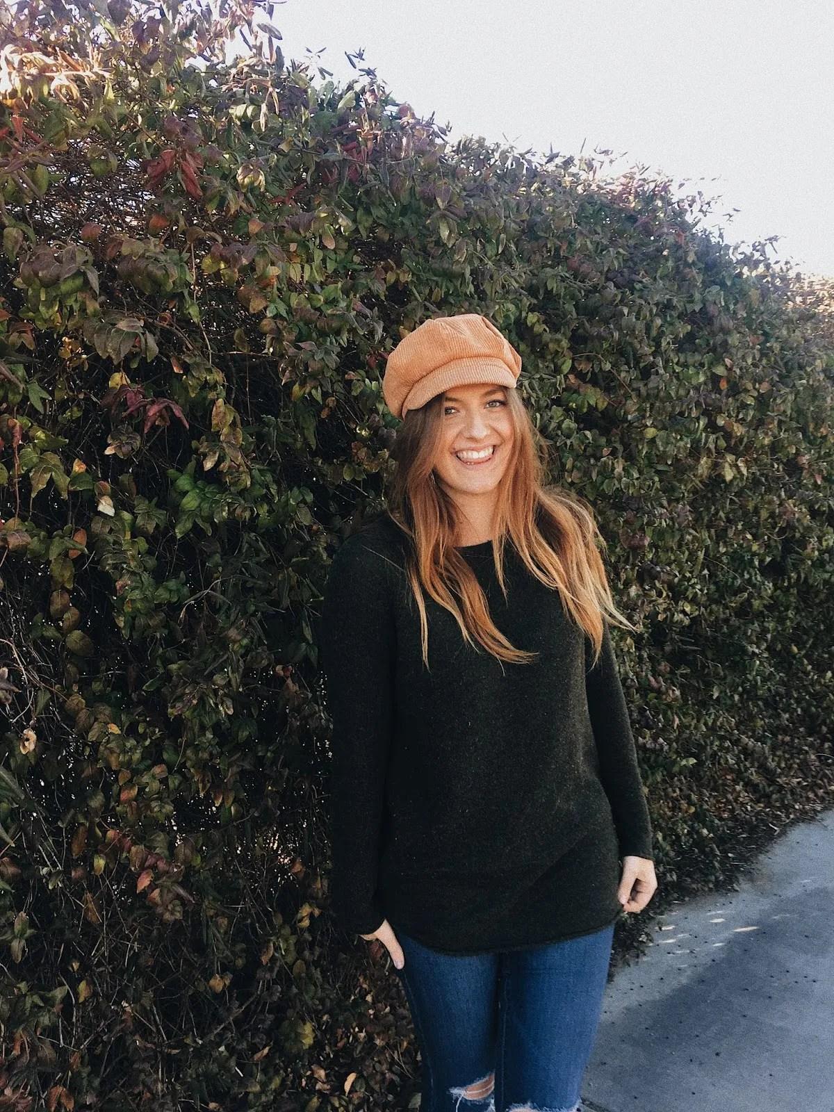 fall bohemian style newsoy hat cap