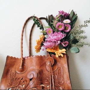 content creation patricia nash tooled leather tote bouquet