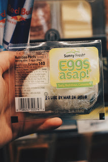 healthy gas station packaged hardboiled eggs asap